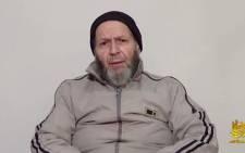 A screengrab taken from a video in which Al-Qaeda hostage Warren Weinstein, 72, urges President Barack Obama to help him.