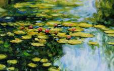 A Claude Monet painting of water lilies. Picture: Facebook.