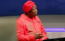 EFF leader Julius Malema. Picture: EWN.