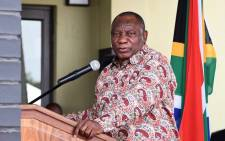 President Cyril Ramaphosa on 4 October 2020 launched the Mooikloof Mega Residential City project in Pretoria. Picture: @PresidencyZA/Twitter
