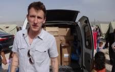 An undated handout photograph made available by the Special Emergency Response and Assistance on 16 November 2014 showing US aid worker Peter Kassig, otherwise known as Abdul-Rahman Kassig, at an unknown location in Syria. Picture: EPA.