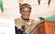 FILE: Mangosuthu Buthelezi at the National Day of Reconciliation celebrations at the Ncome Museum in KwaZulu-Natal. Picture: GCIS.