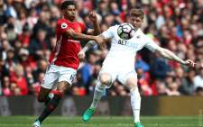 Mancherster United played against Swansea City at Old Trafford on Sunday, 30 April 2017. Picture: Twitter @ManUnited