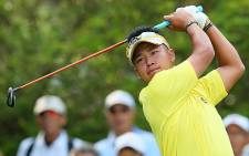 Japanese golfer Hideki Matsuyama will compete at Augusta as a professional for the first time. Picture: Facebook.com.