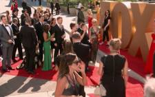 Celebrities arrives for televisions biggest awards, the Emmys. Picture: Screengrab/CNN