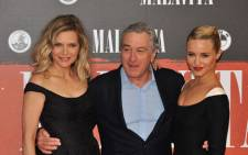Michelle Pfeiffer and Robert De Niro AFP