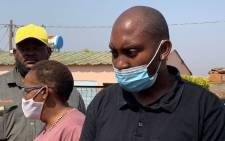 Tebogo Motaung, the brother of murdered ANC councillor Tshepo Motaung. Picture: Masechaba Sefularo/Eyewitness News