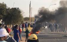 FILE: Protests in Kimberley. Picture: Supplied