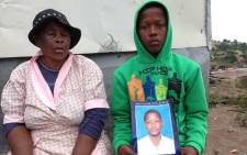 "Thabo's brother Thabani says his twin ""never bothered anyone"". Picture: Vumani Mkhize/EWN"