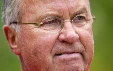 Guus Hiddink. Picture: AFP.