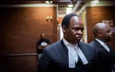 Muzi Sikhakhane, the advocate of former President Jacob Zuma. Picture: Sethembiso Zulu/EWN.