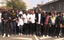 FILE: #FeesMustFall protests sees Wits university shut down after clashes with police. Picture: Kgothatso Mogale/EWN