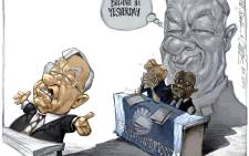 CARTOON: What The Shadow Govern Meant. By Dr Jack & Curtis