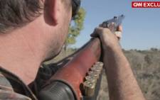 American game hunter pays $350000 to hunt black rhino.
