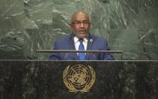 FILE: Azali Assoumani, President of the Union of Comoros. Picture: United Nations Photo