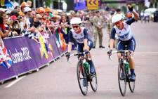 Team Great Britain cyclists at the 2012 London Olympics. Picture: Christine Phillips/iWitness