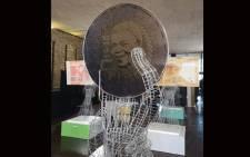 The new Mandela commemorative R5 coin. Picture: Kgomotso Modise/EWN