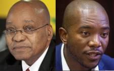 Jacob Zuma versus Mmusi Maimane