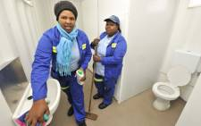 New ablution facilities were handed over to Westbridge 4, Du Noon residents on Thursday 30 May 2013. Picture: Shamiela Fisher/EWN