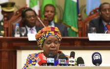 Chairperson of the African Union, Nkosazana Dlamini-Zuma. Picture: GCIS.