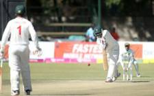 Bangladesh took on Zimbabwe in a one-off Test in Harare on 10 July 2021. Picture: Twitter/@ZimCricketv