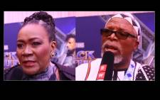Dr John Kani and Connie Chiume. Picture: EWN.