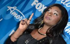 Candice Glover is the first female singer to win the singing competition since 2007. Picture: AFP
