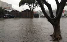 A second cold front is expected after bad weather left many homeless, flooded roads and claimed the life of a vagrant. Picture: EWN