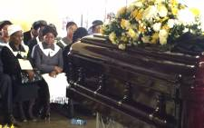 The family of late Public Service and Administration Minister Collins Chabane. Picture: Reinart Toerien/EWN.