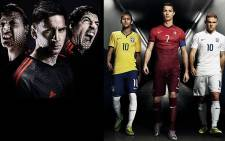Adidas and Nike are battling it out for World Cup supremacy. Picture: Facebook.com/EWN