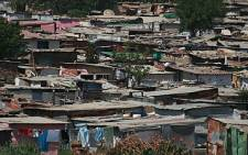 Cape Town's heavy rains have left some informal settlement dwellers destitute. Picture: EWN