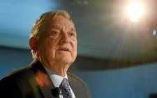 FILE: George Soros. Picture: World Economic Forum.