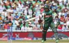 Bangladesh's Mushfiqur Rahim plays a shot during the 2019 Cricket World Cup group stage match between South Africa and Bangladesh at The Oval in London on June 2, 2019. Picture: AFP.