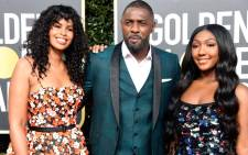 Sabrina Dhowr, Idris Elba, and Isan Elba attend the 76th Annual Golden Globe Awards at The Beverly Hilton Hotel on 6 January 2019 in Beverly Hills, California. Picture: AFP