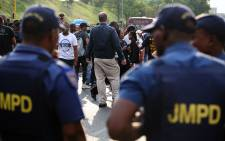 FILE. It's understood officers are demanding that changes be made to salaries and allowances. Picture: Reinart Toerien/EWN