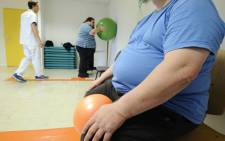 FILE: An obese person. Picture: AFP