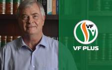 Freedom Front Plus leader Pieter Groenewald. Picture: Freedom Front Plus.