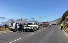 An investigation has been launched to determine the cause of the fire in the Fish Hoek area. Picture: Natalie Malgas/EWN.