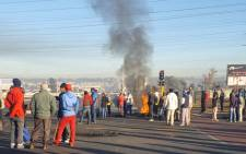 FILE: Protests action. Picture: EWN.