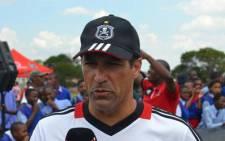 Orlando Pirates coach Roger De Sa. Picture: Orlando Pirates official Facebook page.