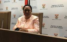 Basic Education Minister Angie Motshekga. Picture: EWN