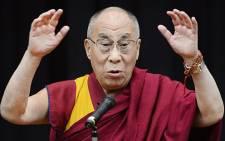 The Dalai Lama. Picture:AFP.