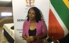 Public Protector Busisiwe Mkhwebane. Picture: Xolani Koyana/EWN.