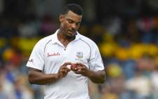 FILE: Shannon Gabriel of West Indies bowls during day 4 of the 1st Test between West Indies and England at Kensington Oval, Bridgetown, Barbados, on 26 January 2019. Picture: AFP.