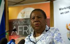 FILE: Science and Technology Minister Naledi Pandor. Picture: GCIS.