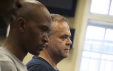 FILE: Radovan Krejcir (right) and an accomplice appears in court. Picture: Kgothatso Mogale/EWN.