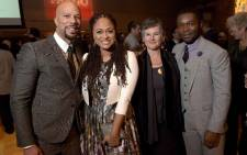 FILE: Musician Common, director Ava DuVernay, artistic director of the Palm Springs International Film Festival Helen Du Toit and actor David Oyelowo in Palm Springs, California. Picture: AFP