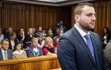 FILE: Christopher Panayiotou in the Port Elizabeth High Court. Picture: Anthony Molyneaux/EWN