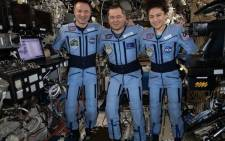 Andrew Morgan, Jessica Meir, and Oleg Skripochka touched down in central Kazakhstan at 0516 GMT in the first returning mission since the WHO declared COVID-19 a global pandemic in March. Picture: @NASA/Twitter.
