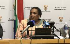 FILE: Labour Minister Mildred Oliphant. Picture: Lindsay Dentlinger/EWN